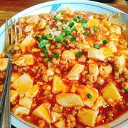 麻婆麺が美味しい