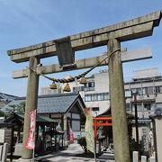 歴史公園に鎮座する神社