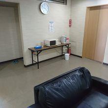 和室フロアの共有スペース。