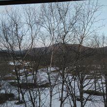 部屋からの眺めです。