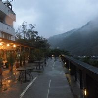 温泉山荘の風景