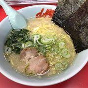 札幌ラーメンとは違う太めのモチ麺