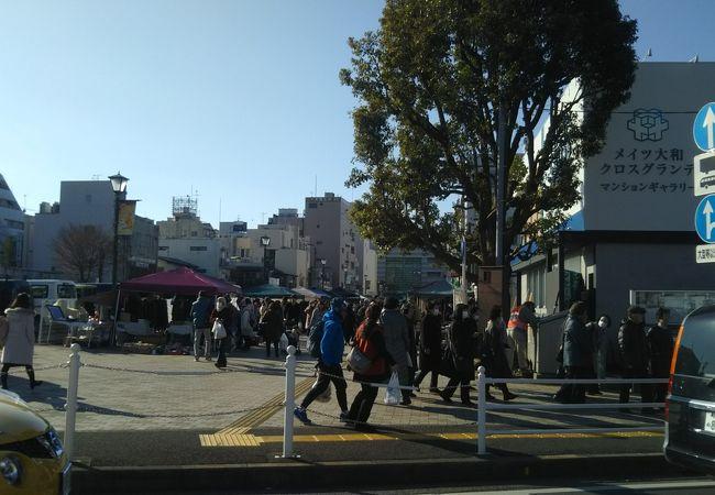 東西プロムナード (大和駅前プロムナード)