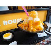 美味しいマンゴーかき氷
