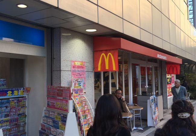 マクドナルド 小田急新百合ヶ丘店