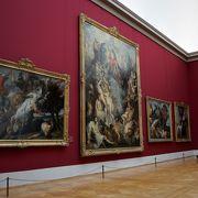 とても広い美術館
