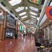 岡山を代表する商店街です