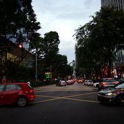 シンガポールの銀座