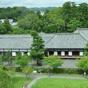 書院造りの掛川城御殿