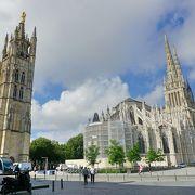 【ボルドー】2本の尖塔が美しいサンタンドレ大聖堂