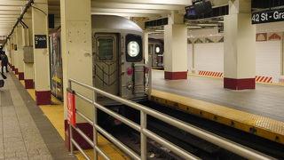 グランドセントラルの地下鉄駅