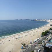 南米を代表する白砂のビーチ