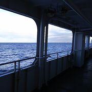 海を眺めてながら