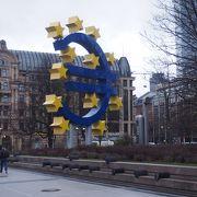 ユーロのマークがある