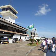 イグアスの滝の拠点となる空港