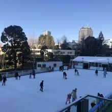 都会のスケート