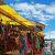 コルチャニ村のマーケット