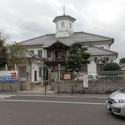 白雲館は近江八幡の中心、一等地にあります