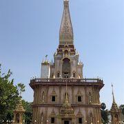 タイを感じられる寺院