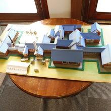 屋敷の模型