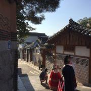 韓国の伝統的住宅地