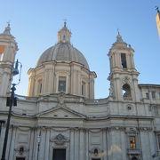 12才で殉教した聖アグネスを祀る教会