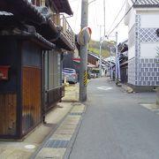 下津井の町並み一本道
