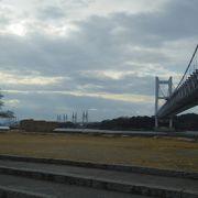 岡山側から見た瀬戸大橋