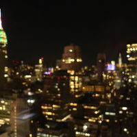最上階からの夜景です