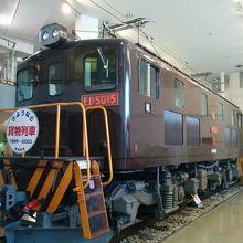 東武博物館には、東武鉄道の歴代車両が見学できます。