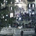 写真:トリニタ デイ モンティ広場