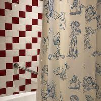 シャワーカーテン可愛い