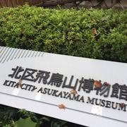 飛鳥山の博物館