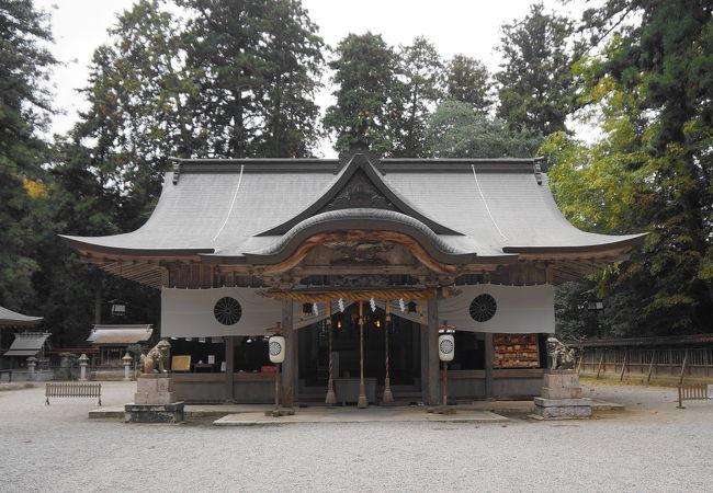 播磨国一の宮伊和神社
