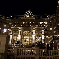 夜のホテルも素敵です