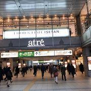 品川駅直結のアトレ