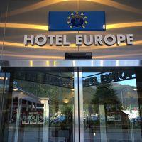 ホテルヨーロッパ 正面入り口