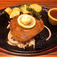 ヒレステーキセット(2,287円)
