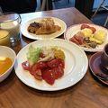 立地の良い朝食が素晴らしいホテル