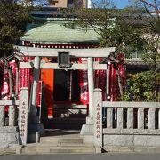 三之橋近くに有る神社