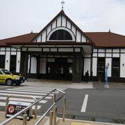 趣のある駅舎