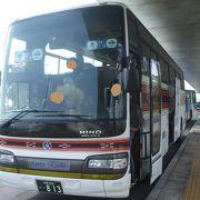観光型のバスで快適でした。