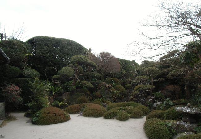 佐多美舟氏庭園