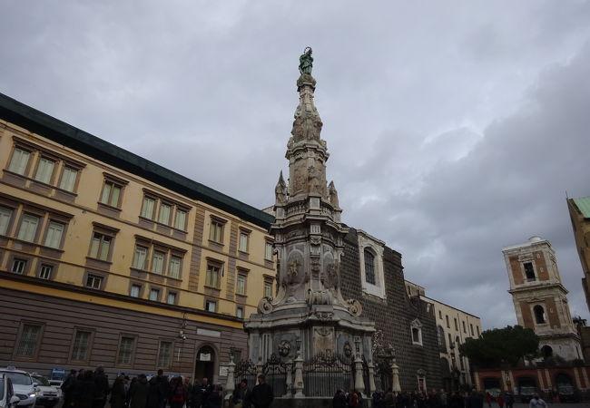 スパッカ・ナポリ地区の入口