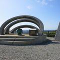 写真:沖縄最東端の碑