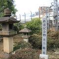 写真:東海寺大山墓地