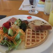 量より質重視で満足度大の朝食