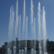 30分ごと1000通りの噴水ショー