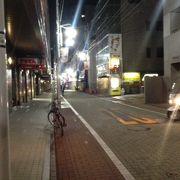 割と人通りがある。