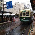 長崎で路面電車に乗った